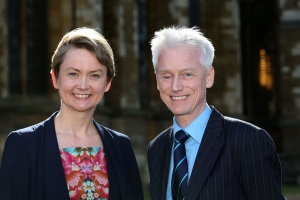 Yvette Cooper talks to David Wooding